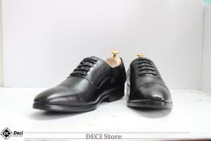 Giày Tây Da Bò Thật – DB24-Đen