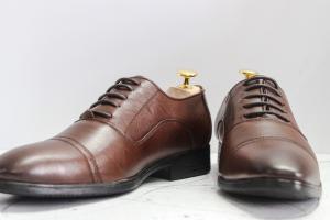 Giày Tây Da Bò – DB24-Nâu