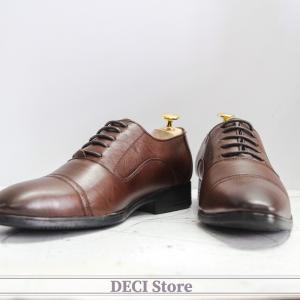 Giày Tây Da Bò Thật - DB24-Nâu