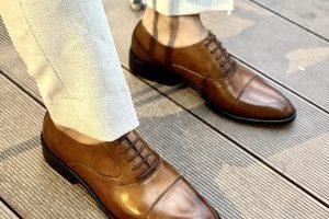 Giày Tây Da Bò Ý Nhập- Brogue 4
