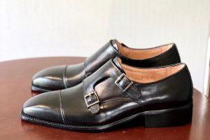 Giày Tây Da Bò Ý Nhập – Brogue 9_Đen
