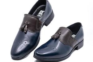 Giày Tây Cao Cấp Nhập Ý- NaVy_Brow 01