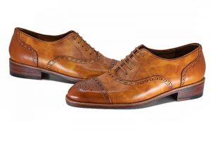 Giày Tây Cao Cấp Nhập-WINGTIP OXFORD PATINA