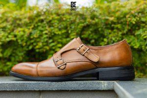 Giày Da Nam – Brogue 9 nâu